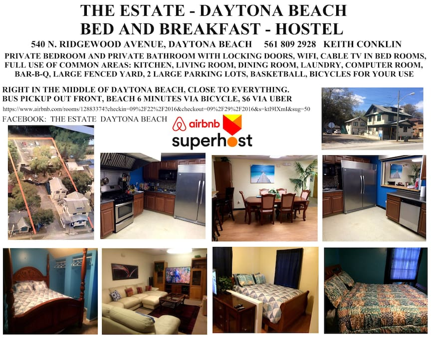 2 Twin Bedroom With Private Bathroom Daytona Beach Guest Suites For Rent In Daytona Beach