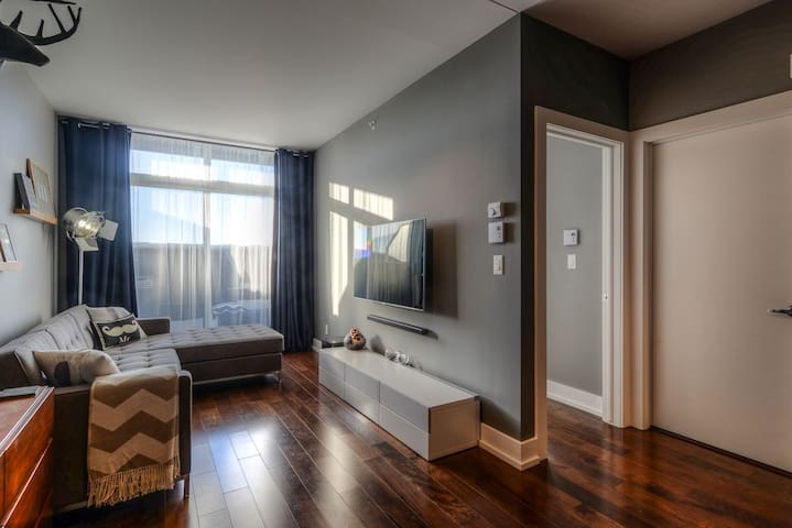 Beautiful condo + private terrace - Lachine - Kondominium