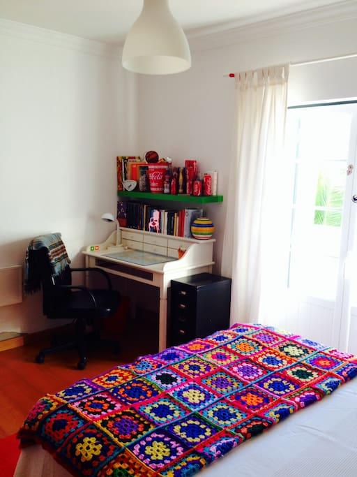 Pormenor do quarto D. Ana