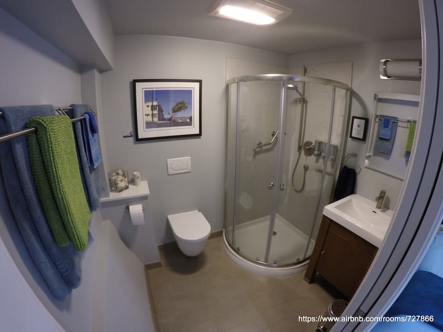 A GoPro look at your modern luxurious bathroom...