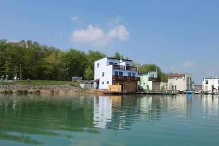 Ferienhaus Seepferdchen IM Hainer See mit Boot und Steg ****