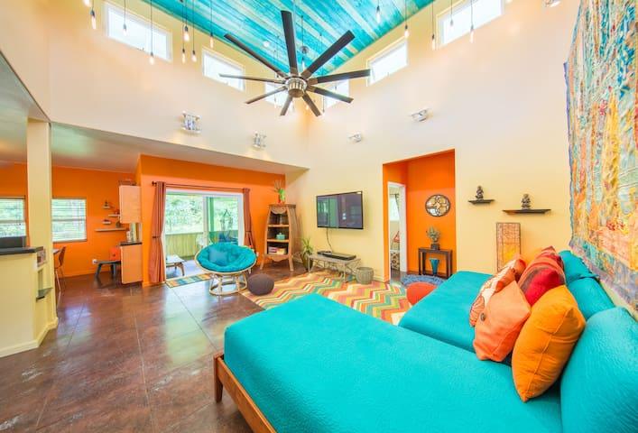 Stunning Luxury  Hawaiian Retreat - Pāhoa - Casa