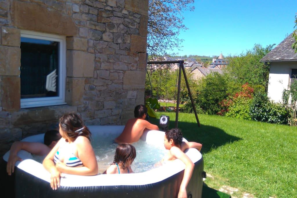 Le spa extérieur