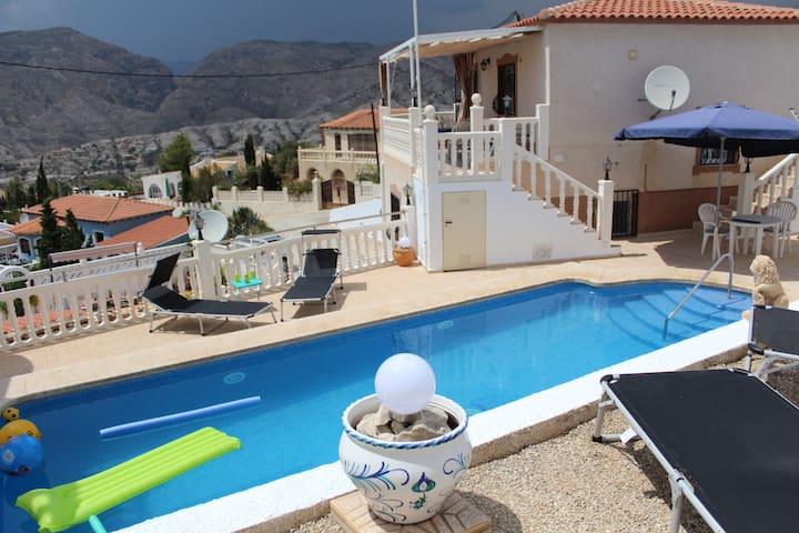 Haus an der Costa Blanca mit privaten Pool - Orcheta - Hus