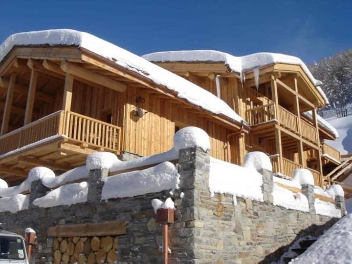 8 Bedroom Chalet Sainte Foy Tarentaise Ski Resort