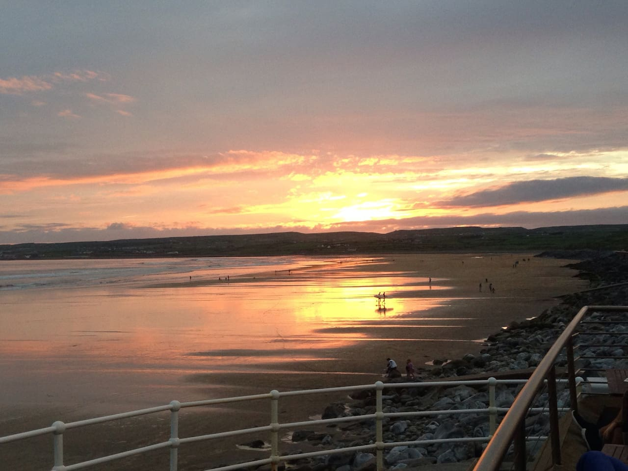 Sunset on liscannor bay - Lahinch