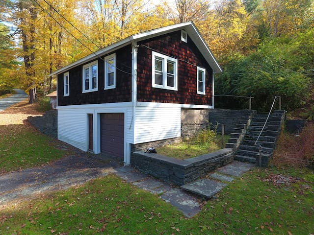 Sunny Callicoon Home w/ Private Woods & Campfire