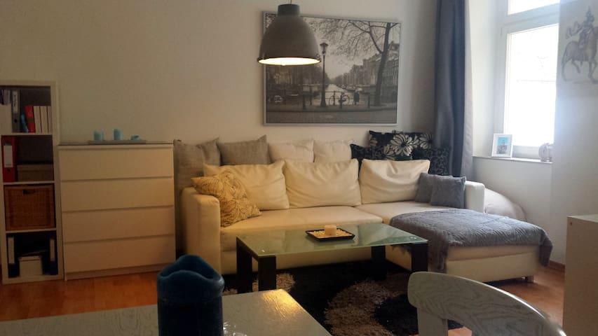 Gemütliche 2Zi-Whg mit Balkon gut angebunden - Dresden - Apartment