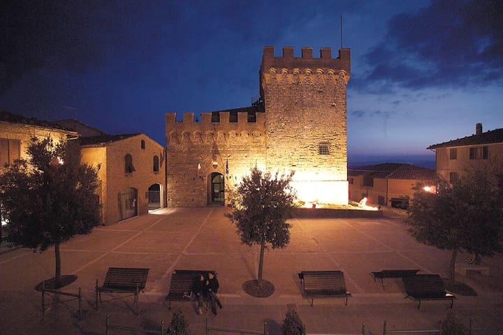 In the heart of Tuscany's most beau - Casole D'elsa, Volterra - Leilighet