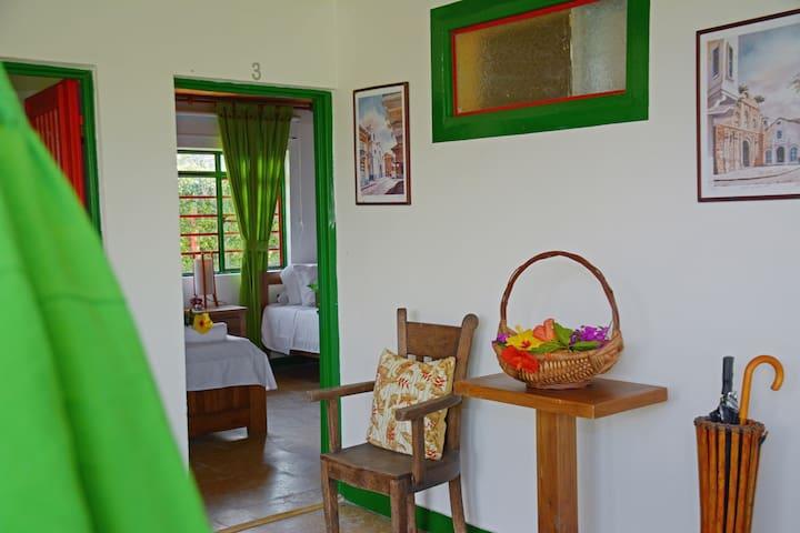 Pasillo de la Villa Chambacú