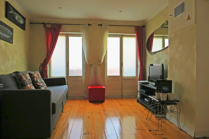 cozy apartment at the centre with free wifi