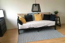 Vuodesohvasta tulee 160-senttinen mukava sänky