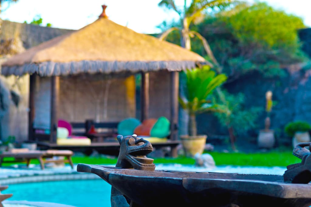 Gazebo Chill out next to the pool
