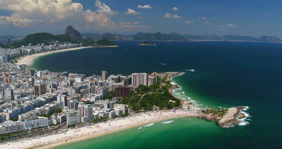 Appartement de plage à Rio