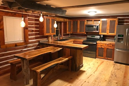 Log Cabin in the city w/brewery tour and tasting
