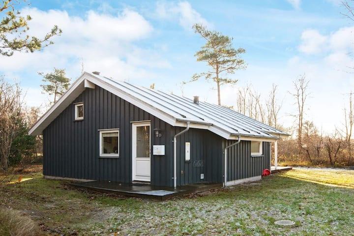 Lujosa cabaña en Grenaa Jutlandia con sauna