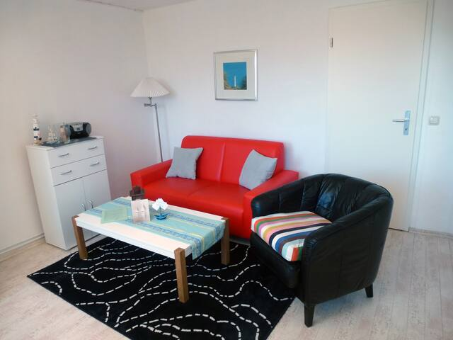 Ferienwohnung 'Anker' mit Meerblick/Insel Rügen - Lohme - Apartment