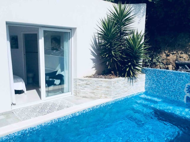 Barbicaja double room private pool 2 peoples