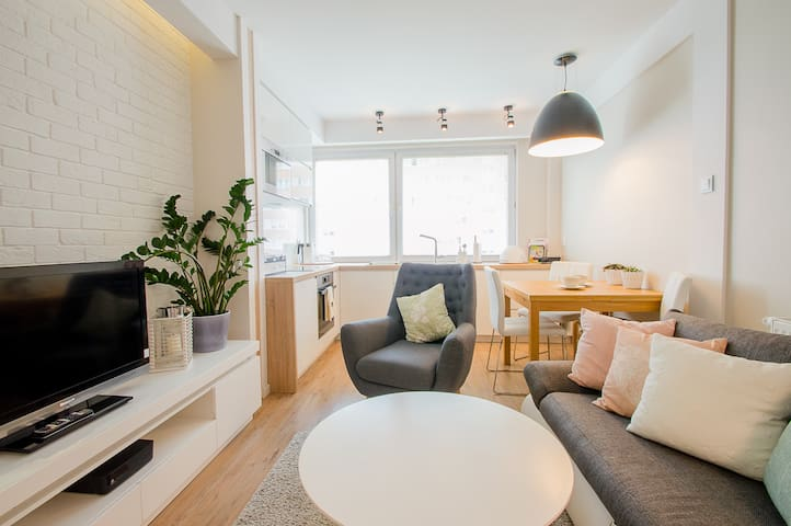 Sunny apartment near the beach - Gdansk Przymorze