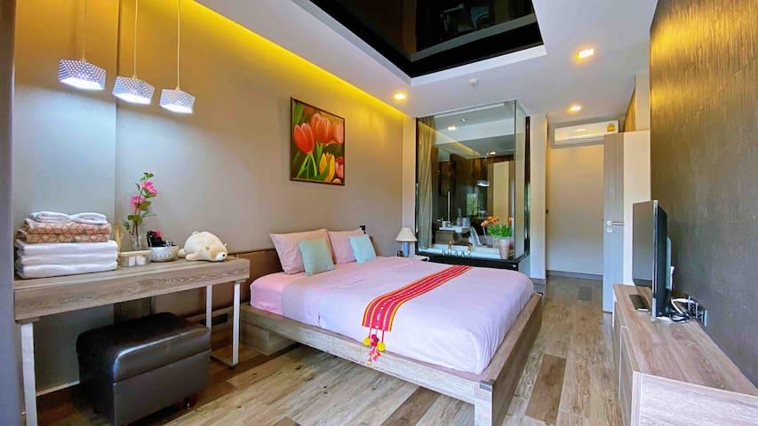 ❤️U88 Luxury Apt 50 SqM. @ Nimman-MAYA Mont view