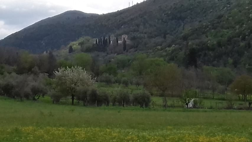 Country house 2 km from Abbazia di Farfa
