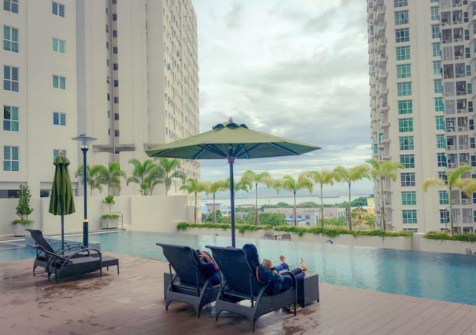 好评中!!Seaview Deluxe Suite (WiFi+Netflix) 小岛风情@海景套房