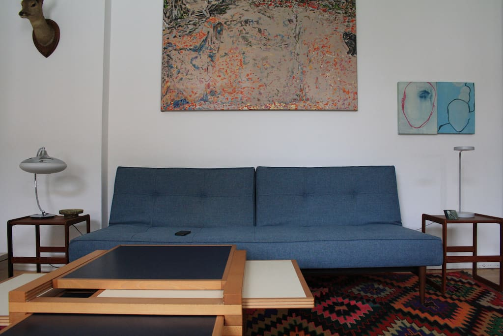 Sofa/Bed, living room