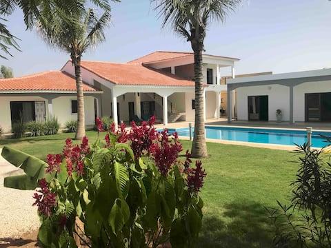 Une très belle villa de luxe à ngaparou