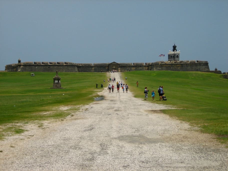 el morro fort in the old city