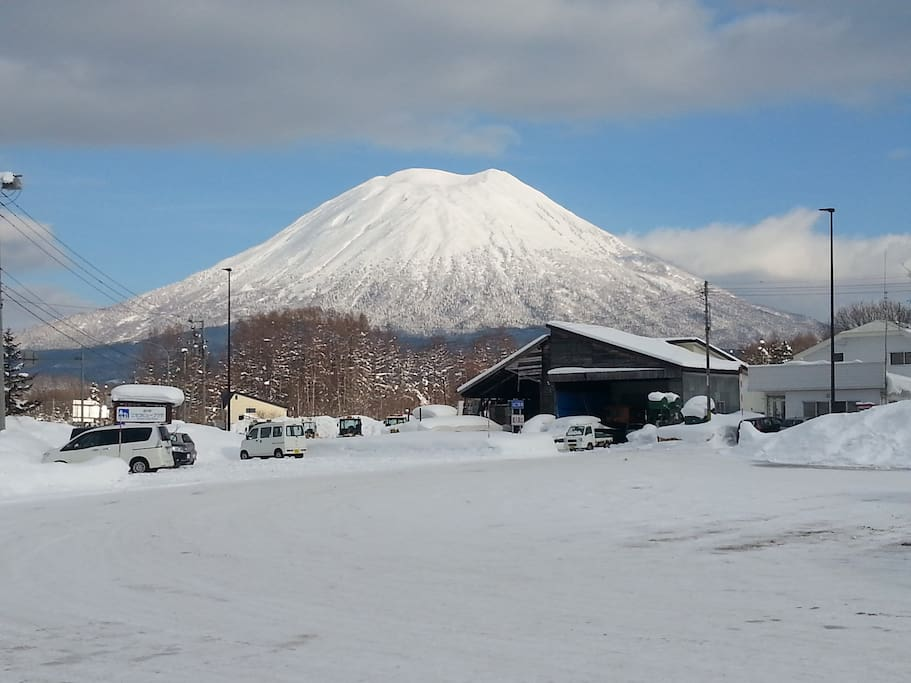MT  Yotei, if your really keen you can hike this if you have a spare 6 hours