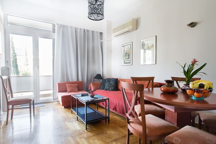 Central, new and fully equipped flat - Athina - Appartamento
