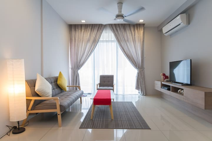2 bedroom air-conditioned apartment - Tanjung Tokong