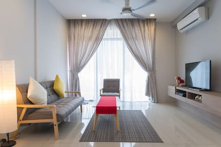 2 bedroom air-conditioned apartment - Tanjung Tokong - Departamento