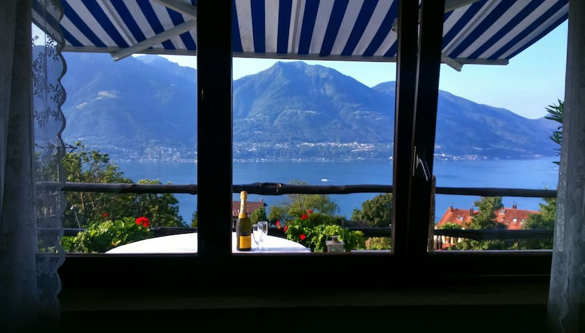 Bella Vista- apartment with a view - Brione sopra Minusio - Apartment
