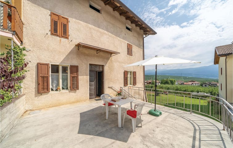 Awesome home in Cunevo with WiFi and 2 Bedrooms