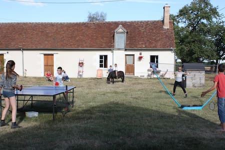 le cottage des chevaux, Zoo Beauval - Baudres - Talo