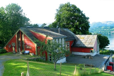 Lovely apartment at organic farm - Norheimsund - Apartament