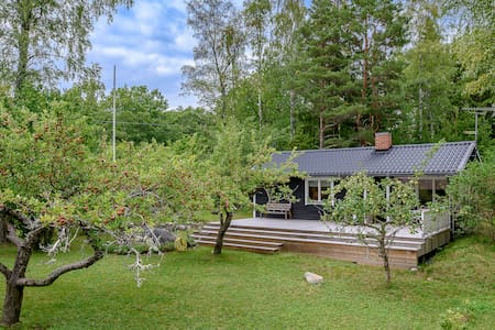 Cosy cottage in Herräng, 5+2 beds. 5 min to beach