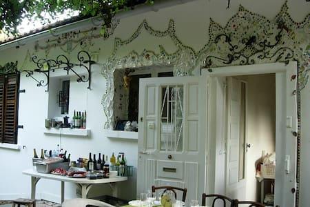 maison et jardin dans la campagne lorraine, - Messein
