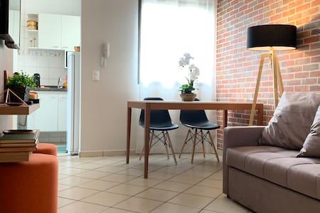 Charming Apartment,  no melhor de Ribeirão. Até 4!