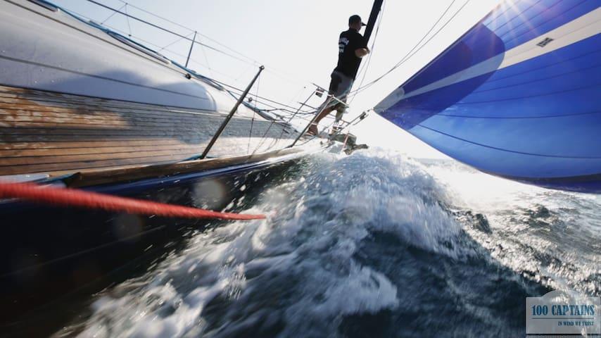 Yacht 'Gagarin' Beneteau First - Sanremo - Barco