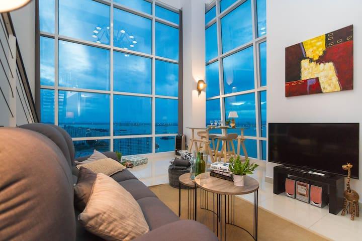 Romantic Seafront Suite@ Georgetown2 ‖ 浪漫日出无敌海景套房