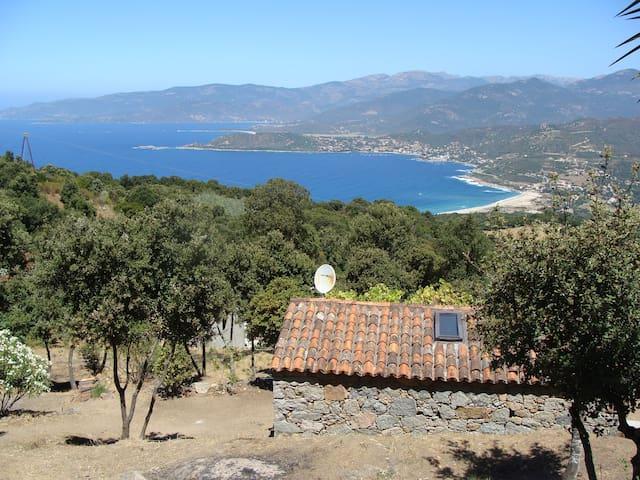 maison pierre location à la semaine - Calcatoggio - House