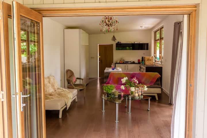Idyllic-lodge hideaway, with modern amenities