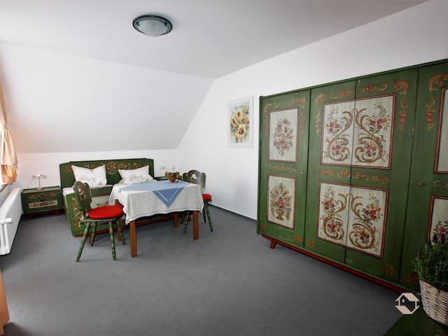Schwarzwald-Café Pension Fechtig, (Ühlingen-Birkendorf), Doppelzimmer Nr. 2