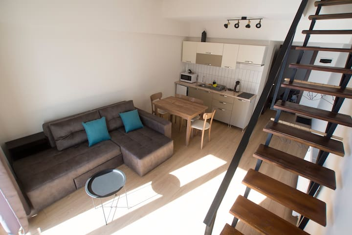 Vista Gudauri loft apartment