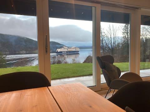 Nova cabine com vistas panorâmicas do fiorde de Oslo!