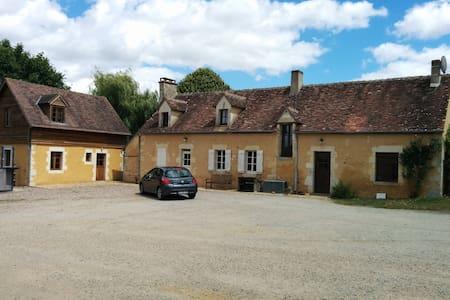 Chambre dans une ferme percheronne - Saint-Germain-de-la-Coudre - 独立屋
