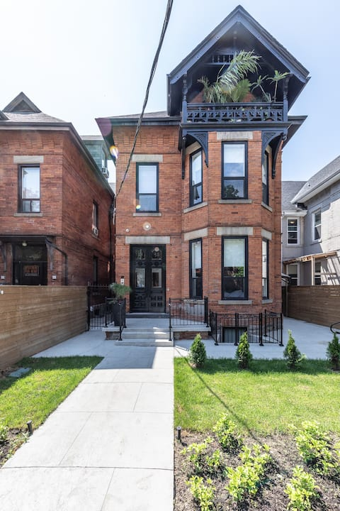 Stunning 1 bed lower level unit in historic home!
