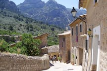 Surrounded by the Serra de Tramuntana